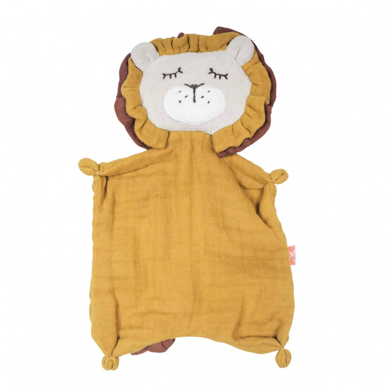Simple Towel Doll Lion GOTS