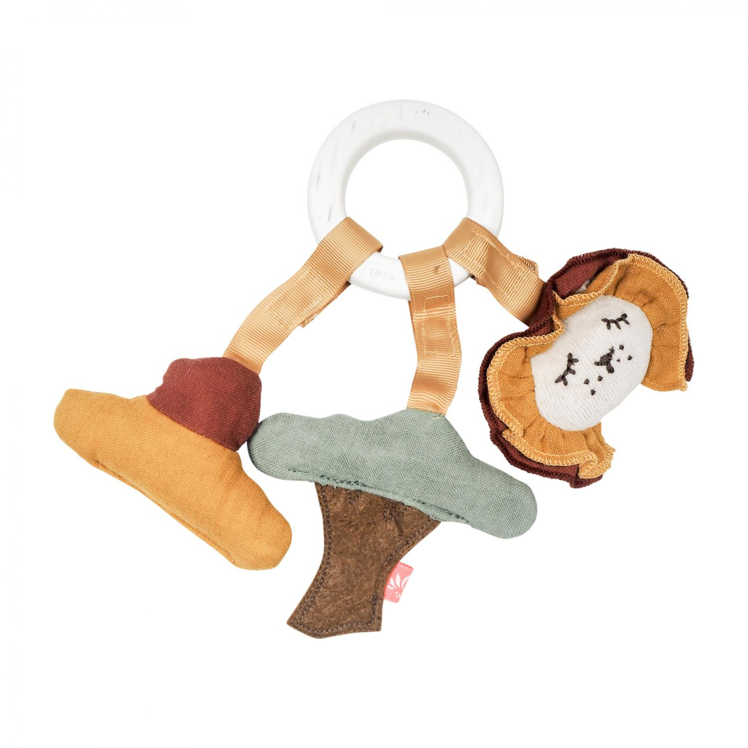 Teether with Sunset Lion