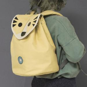 Laban yellow tiger backpack