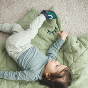 Alma green play mat