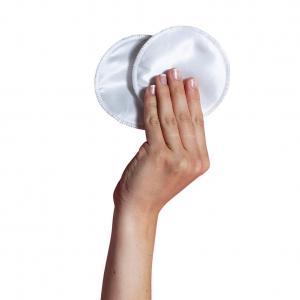 Washable silk breast pads