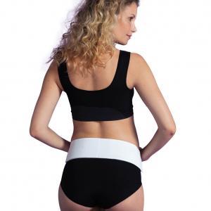 Support belt white L/XL