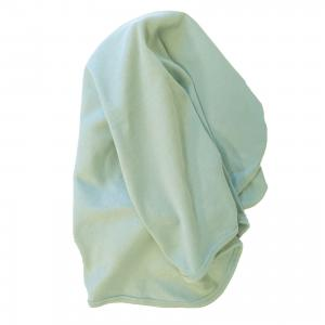 Baby blanket soft mint GOTS
