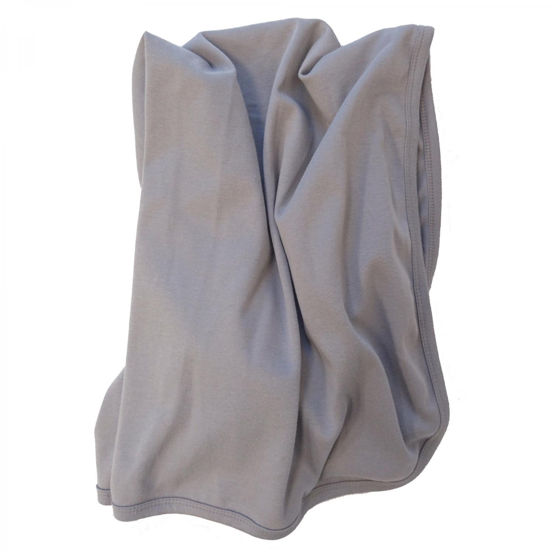 Baby blanket grey GOTS