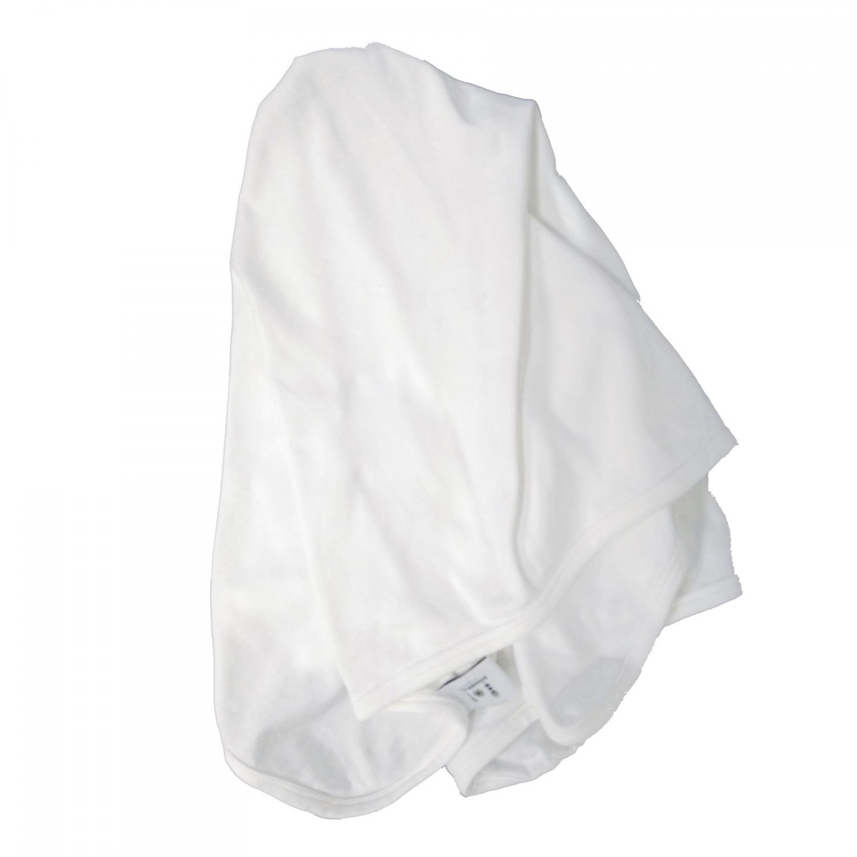 Baby blanket white GOTS