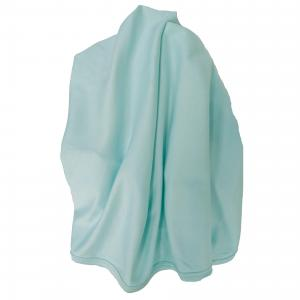 Baby blanket mint GOTS