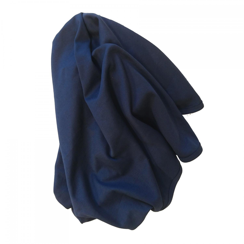 Baby blanket midnight blue GOTS