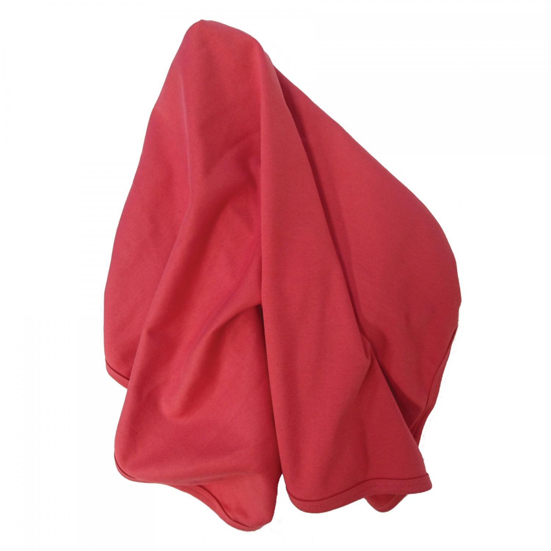Baby blanket red GOTS
