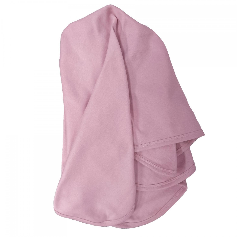 Babyfilt soft pink GOTS