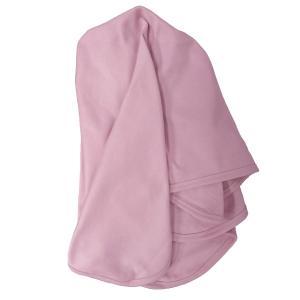 Baby blanket soft pink GOTS