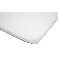 Fitted sheet baby white GOTS