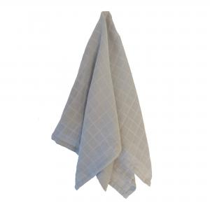 Muslin blanket grey GOTS