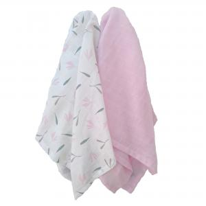 Muslin pack of 2 summerlove GOTS