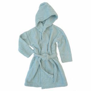 Bath robe sapphire 110/116 GOTS