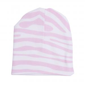 Hat animal pink 0-3 months GOTS