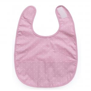 Haklapp soft pink dotty