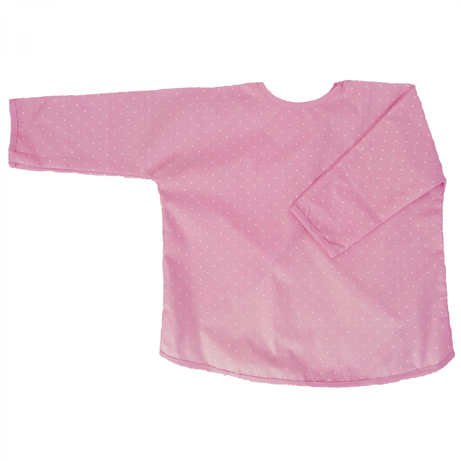 Apron soft pink dotty