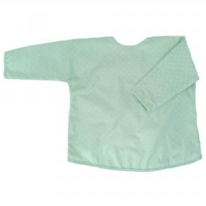 Apron soft mint dotty