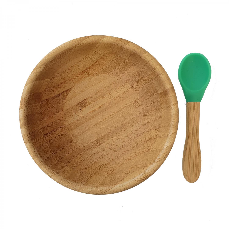 Bamboo bowl green
