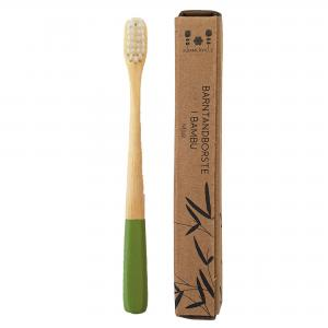 Kids toothbrush green