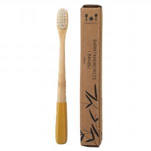 Kids toothbrush yellow