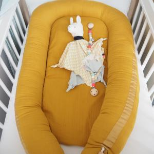Babynest Muslin Mustard