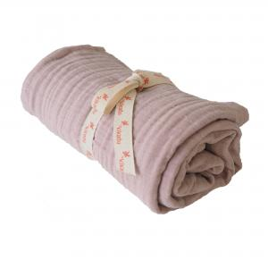 Big Swaddle Muslin Pale Rose GOTS