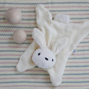 Anika off-white rabbit cuddle cloth