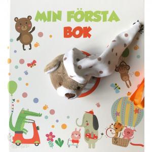 Min första bok - babyalbum med snutte