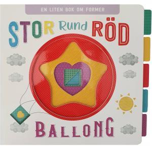Stor rund röd ballong