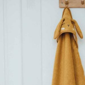 Hooded Towel Rabbit Mustard