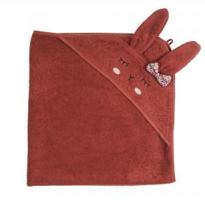 Hooded Towel Rabbit Rust