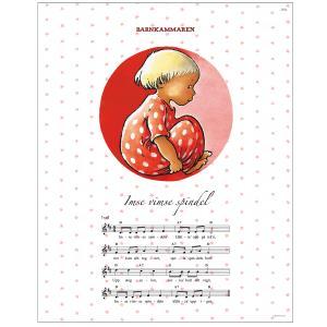 Poster Barnkammaren red