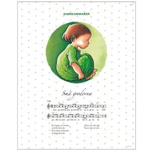 Poster Barnkammaren green