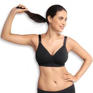 Maternity & Nursing bra Carri-Gel black S