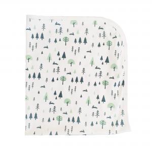 Babyfilt forest GOTS