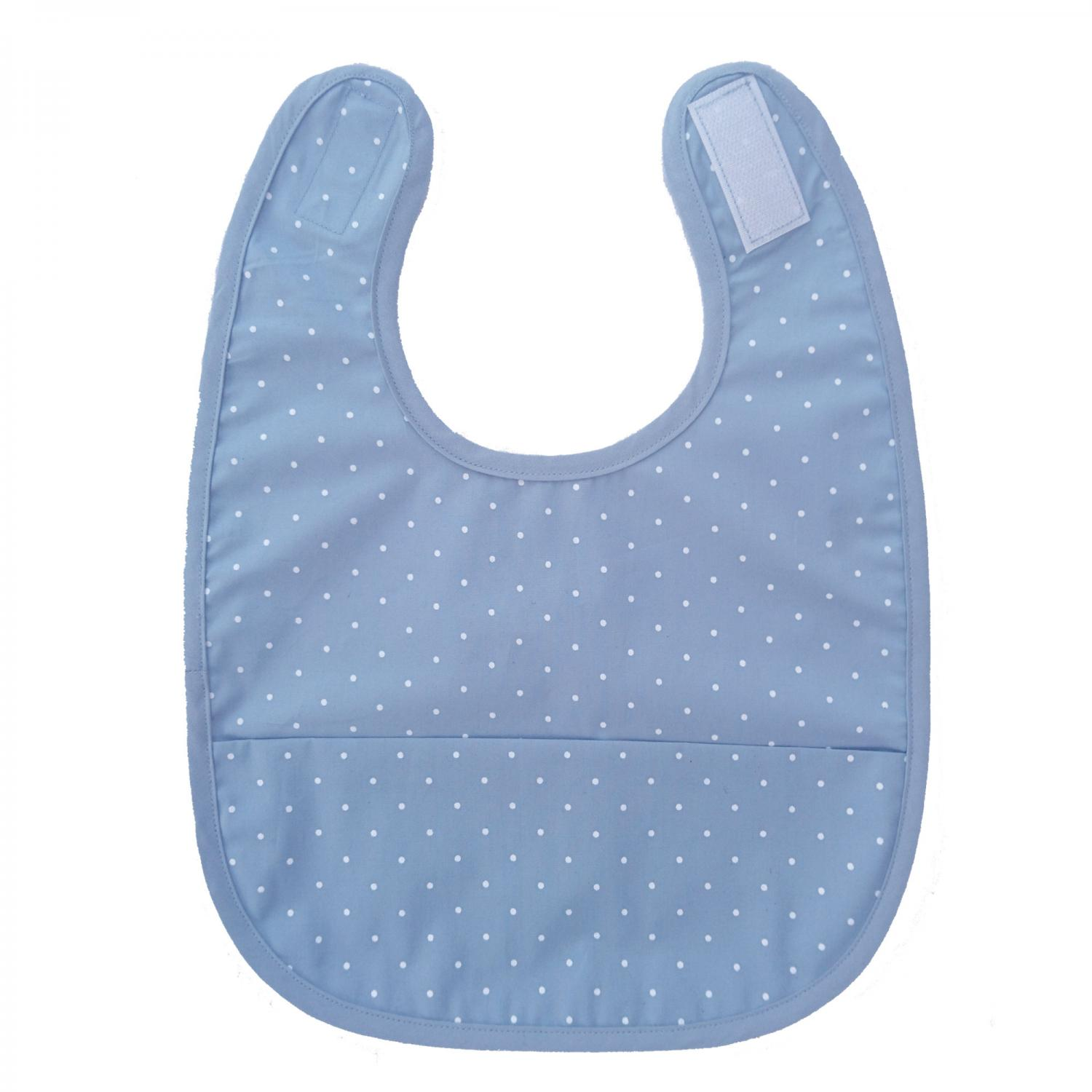 Bib forever blue dotty