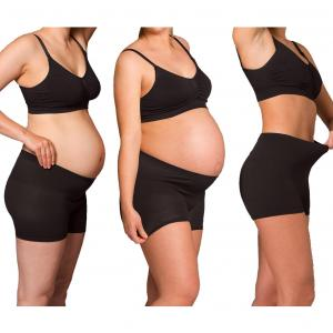 Maternity- and hospital panty black