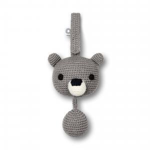 Lauge grey activity toy