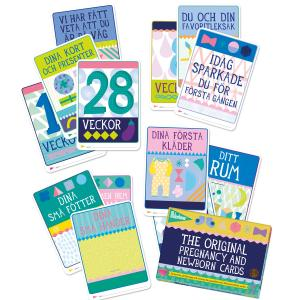 Milestone Pregnany and Newborn Cards SE