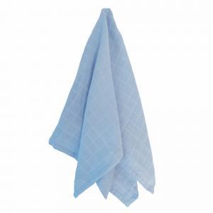 Muslin forever blue GOTS