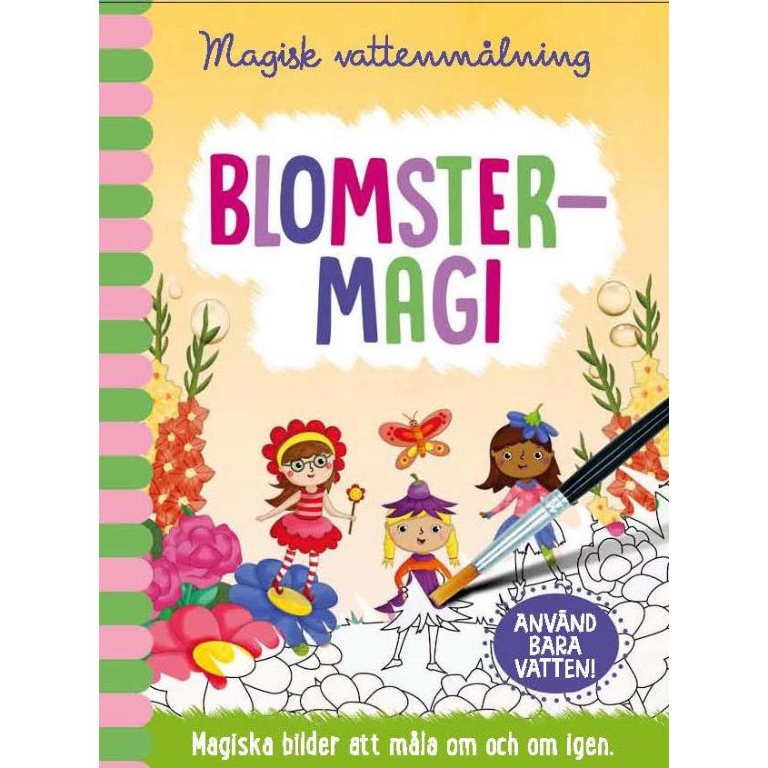 Magisk vattenmålning - Blomstermagi