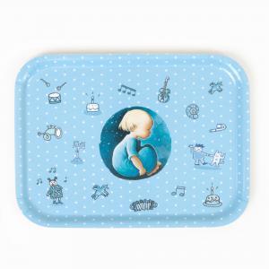 Tray blue