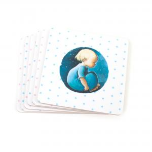 Coaster blue