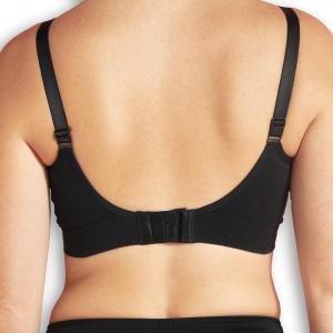 Organic Maternity & Nursing bra black S