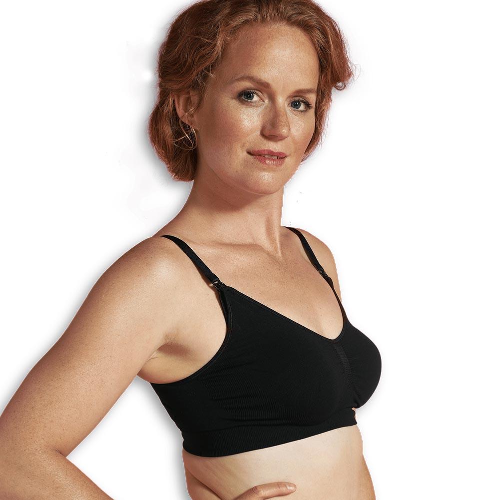 Maternity & nursing bra black M