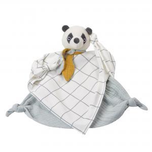 Towel Doll Panda GOTS