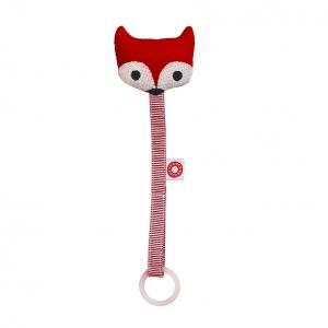 Ring red fox soother holder