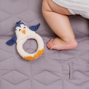 Virkad skallra pingvin