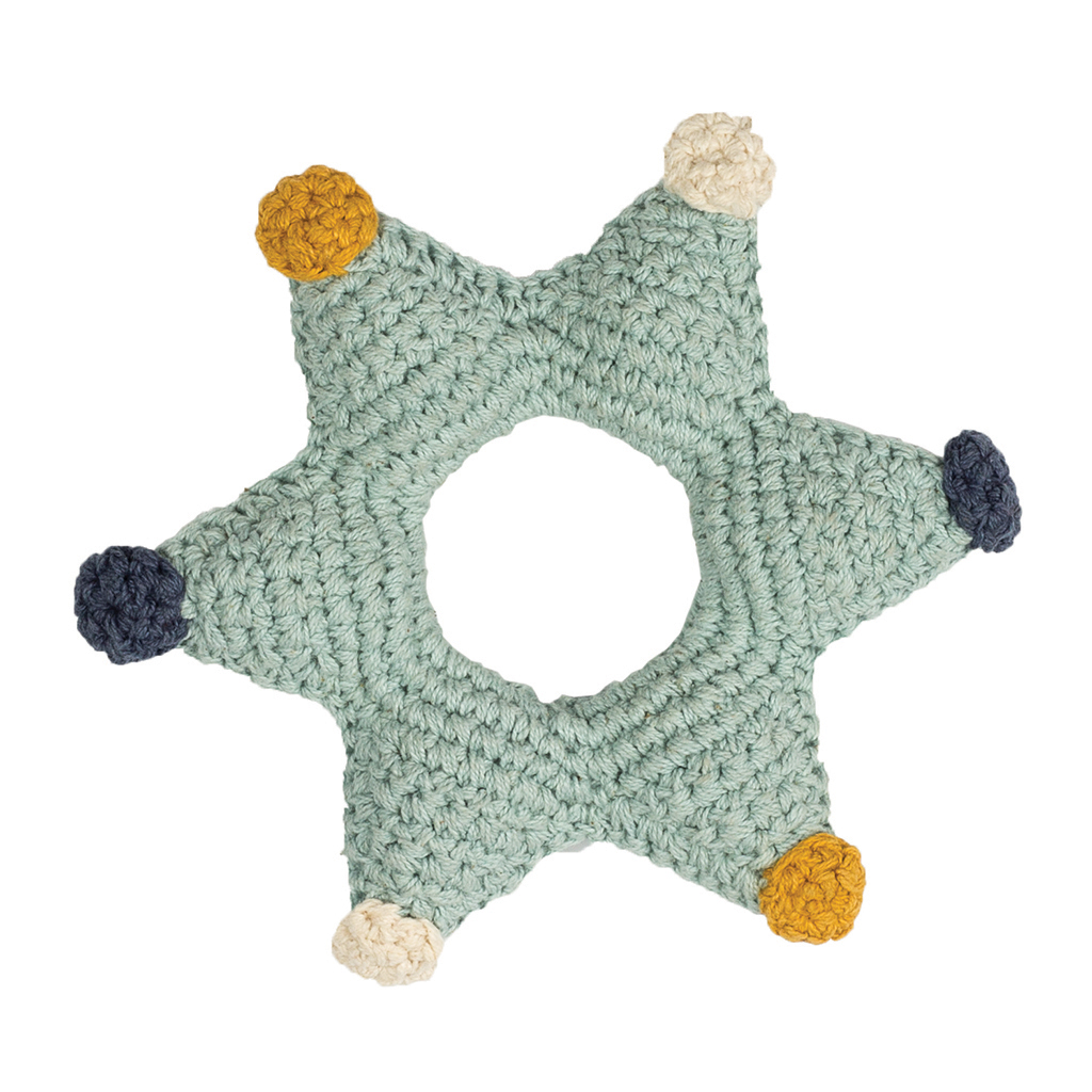Hoppa rattle star